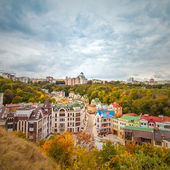 Vozdvizhenka elite district in Kiev, Ukraine — Stock Photo