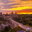 Stock Photo: Evening City. Historic District Kamyanets-Podolsky City. Ukraine