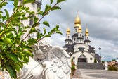 Country church in Ukraine — Foto Stock