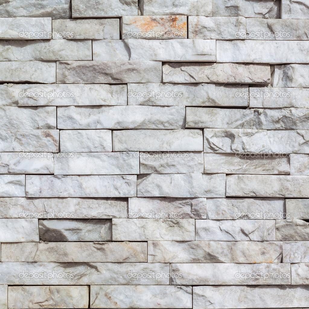 Mattoni di marmo bianchi a parete texture e sfondo — Foto Stock © beerlogoff2 #42350991