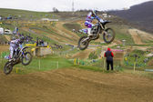 Motocross — Fotografia Stock
