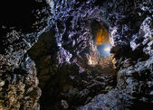 Cave with beautiful colors — Stock Photo