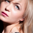 Beautiful blond woman portrait. Fashion photo — Stock Photo #21721443