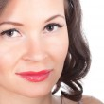 Beautiful European young woman portrait — Stock Photo