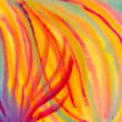 Abstract - colourful watercolour painting — Stock Photo