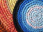Background - textile - crochet — Stock Photo