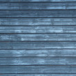 Stock Photo: Blue wooden wall