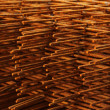 Stock Photo: Reinforcement bars - Background