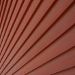 Red wooden wall — Stock Photo