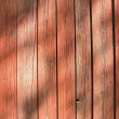 Stock Photo: Red wooden wall