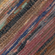 Closeup of old worn out striped rag rug — Stock Photo #31785449