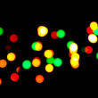 Background - Blurry coloured lights — Stock Photo