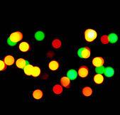 Fondo - luces de colores borrosas — Foto de Stock