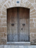 Old brown Doorway — Stock Photo