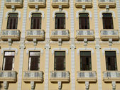 Yellow Cuban Building — Stock Photo