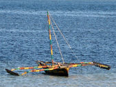 African Fishing Boat — Stock Photo