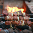 Shish kebab — Foto Stock