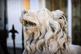 Statue of lion — Stock Photo