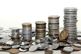 A stack of coins — Stock Photo