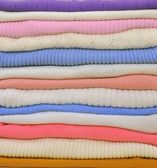 The pile of sweaters — Stock Photo
