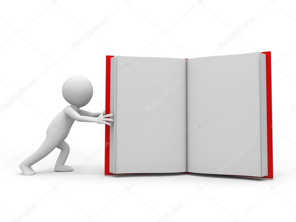 3d book presentation