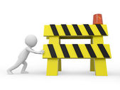 Roadblocks — Stock Photo