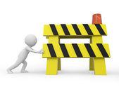 Roadblocks — Stock Photo