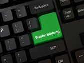 Weiterbildung — Stock Photo
