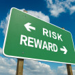 Stock Photo: Risk reward