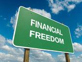Financial freedom — Stock Photo