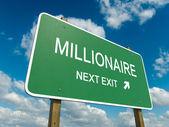 Millionaire — Stock Photo