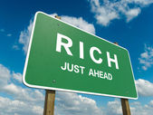 Rich — Stock Photo