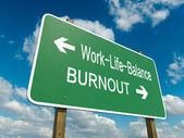 Work life balance — Stock Photo