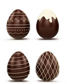 Set of Easter eggs — Stock Photo