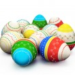 Royalty-Free Stock Photo: Colorful painted Easter eggs