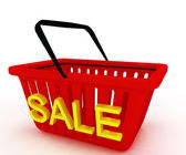 Illustrazione di vendita. — Foto Stock