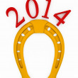 2014 new year of horse. — Stock Photo #28661669