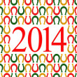 2014 new year of horse. — Stock Photo #30857061