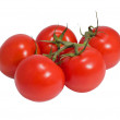 Cluster of tomatoe - Stock Photo