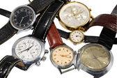 Vários relógios — Fotografia Stock