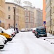 Stock Photo: Street in winter