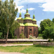 Stock Photo: Rural wooden church