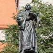 Stock Photo: Monument to Martin Luther