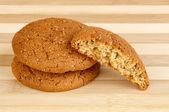 Havermout cookies — Stockfoto