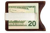 Dollars in money clip. — Stock Photo