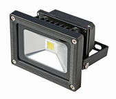 LED Energy Saving Floodlight. — Stock Photo