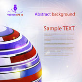 Abstract background for sample text — Stock Vector