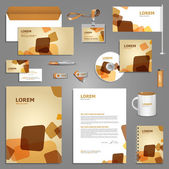 Creative stationery template design. — Stock Vector
