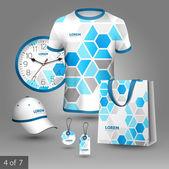 Progettazione di souvenir per azienda — Vettoriale Stock
