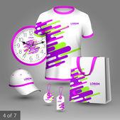 Promotional souvenirs design — Vector de stock